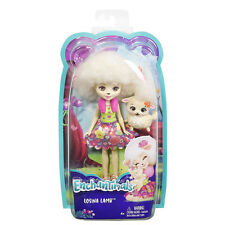 Enchantimals Doll and Animal Pack - Lorna Lamb and Flag Lamb - FCG65