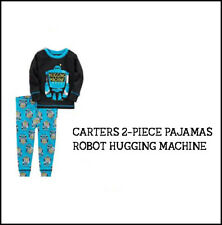 Carters 3T Long sleeve & Pants Cotton Robot Hugging Machine PJs Pajamas Boy