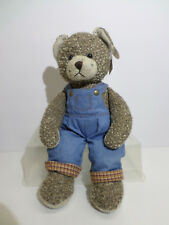"""Russ Bears From the Past 16"""" Country Overalls"""