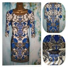 NEW LADIES DOROTHY PERKINS BAROQUE TUNIC TOP SIZE 16, Stunning Slinky Stretch