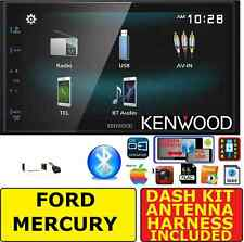 FORD MERCURY TOUCHSCREEN JVC-KENWOOD SCREEN MIRROR BLUETOOH CAR RADIO STEREO PKG