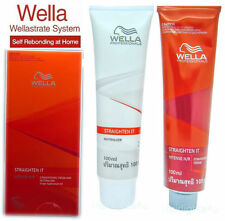 WELLA WELLASTRATE Permanent Straight System Hair Straightening Cream # Intense