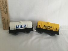 Thomas & Friends? Trackmaster Railway Sodor Fuel and Milk (2 piece lot)