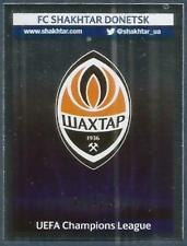 PANINI UEFA CHAMPIONS LEAGUE 2013-14- #026-SHAKHTAR DONETSK TEAM BADGE-FOIL