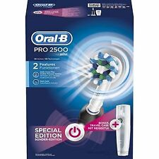 Oral-b Pro 2 2500 Crossaction - pack con un cepillo de dientes Eléctrico Recar