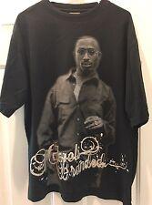 Makaveli Branded Tupac Shakur 2Pac Shirt Bling Hip Hop Rap Large