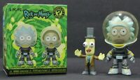 Funko Rick and Morty Mystery Mini Space Suit Rick/Professor Poopy Butthole Open