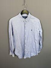 RALPH LAUREN Shirt - Size 16.5 - Blue - Great Condition - Men's