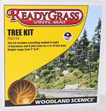 OO HO Scale Woodland Scenics Vinyl Mat ready grass Tree Kit RG5154 FNQHobbys