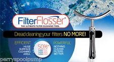 Filter Flosser Cartridge Cleaning Tool Pool Spa Filter Cleaner FFLOSSV1 60-1000
