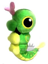 POKEMON CATERPIE 30 CM PELUCHE PUPAZZO Chenipan Raupy Metapod Butterfree plush