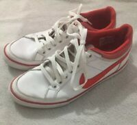 Nike Capri III Low Lthr Mens White Sneakers Trainers Shoes Sz. 9 US 579622-166
