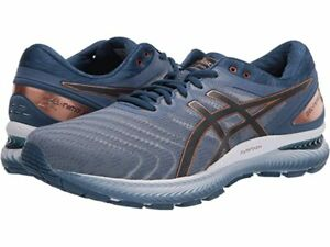 ASICS Gel-Nimbus 22, Men Sizes 9.5-10.5-11-11.5-12.5-13 Extra Wide 4E, Grey NEW!