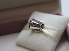 New w/Box Pandora Sterling Silver Cheerleader Charm #791125 Cheer **RETIRED**