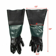 Labour Protection Gloves For Sand Blasting Cabinet Sandblaster Replacement #