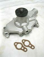 Plain Aluminum High Volume Small Block Chevy Short Water Pump 283 305 350 SBC