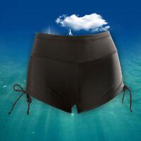 new Women Ladies Adjustable Drawstring  Swim Shorts New Bikini Bottoms UK sell