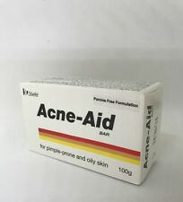 *NEW* STIEFEL Acne-Aid Soap Bar 100g Pore Cleansing Pimple Oily Skin