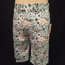 nwt**FLOW GOLF FLOW SOCIETY IRELAND GOLF SHORTS*SIZE 34*$55 MSRP*Ships Free