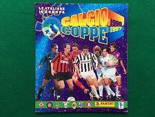 ALBUM Figurine Sticker CALCIO COPPE 1996/97, Ed. Panini , Completo + Poster !!!