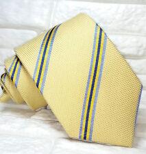 Cravatta a righe , lana e seta ,TOP Quality NUOVA marca TRE seta made in Italy