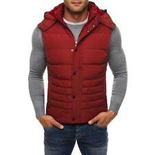 Cappotti e giacche da uomo rossi con cappuccio taglia XL