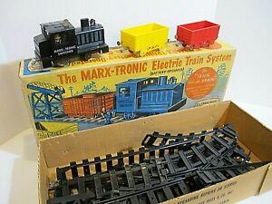 MARX - TRONIC BATTERY OPERATED TRAIN SET !!!!! O/B