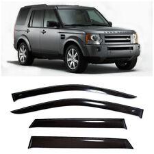 For Land Rover Discovery 04-15 Window Side Visors Sun Rain Guard Vent Deflectors