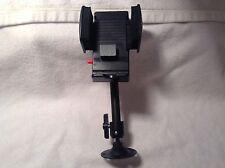 GRIPMATIC DOUBLE SWIVEL Vehicle Car RADIO Cell Phone Adjustable Gripmatic Holder
