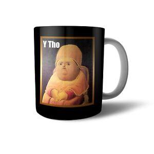 Personalised Magic Colour Changing Mug Initials Name Y Tho Meme MugDR01P
