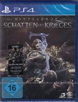 Mittelerde: Schatten des Krieges - PS 4 - Deutsche Version - Neu & OVP