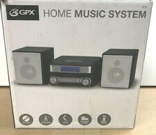 â�New Compact Shelf Stereo Music System Cd Player Am/Fm Radio Alarm Aux-In Remote