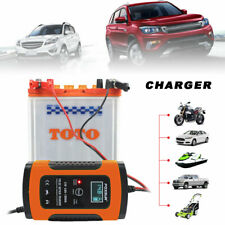 12V 6A Car Battery Charger Auto Truck Motorcycle Pulse Repair Lead Acid Starter