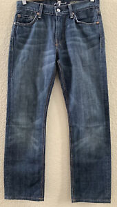 7 For All Mankind Women's 'Slimmy' Blue Denim Jeans - Sz 29
