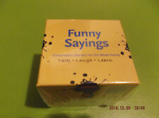 "Word Teasers ""Funny Sayings"" Card Game New & Sealed"