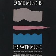 Some Music is Private Music (1989) Patrick O'Hearn, Tangerine Dream, Ravi.. [CD]