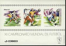 Brazil  MNH Sc 1789 Souvenir sheet Soccer
