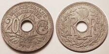 20 Centimes 1945 C Castelsarrasin, TTB, Rare !!
