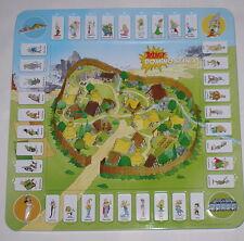 Astérix et Obélix Domino jeu de la France! avec tous les 36 Domino Pierres!!!