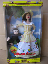 2000 Barbie doll and Curious George