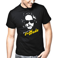 Just call me The Dude Lebowski Film Movie Kult Retro Fan Geschenk T-Shirt