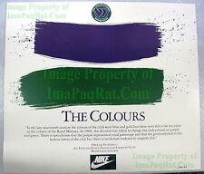 NITF ☆ 1984 ☆ Vintage ☆ NIKE Wimbledon THE COLOURS ☆ Lithograph Poster ☆ Tennis