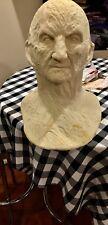 Freddy Mask Bust Elm Street Lifesize Halloween Prop Jason Myers