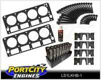 Chev LS1 5.7L Head Gaskets Head Bolts Genuine GM LS Roller Lifter & Guide Kit
