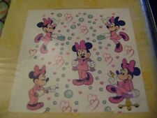 NEW in the package, WALT DISNEY WORLD MINNIE MOUSE SHOWER CURTAIN