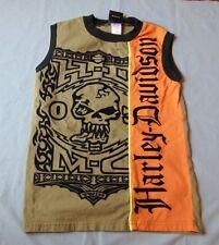 Harley-Davidson T-Shirt Youth 12/14 M Sleeveless