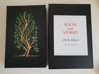 TOLKIEN: POEMS AND STORIES  * TRUE FIRST DELUXE EDITION *  hobbit, lotr related