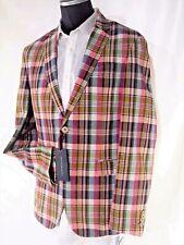 Tommy Hilfiger mens casual plaid jacket
