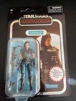 "Star Wars Mandalorian Vintage Collection CARA DUNE 3.75"" Carbonized Figure 2020"