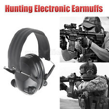 Electronic Ear Muffs Noise Canceling Shooters Hearing Protection Safety Earmuffs
